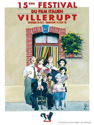 festival du film italien de villerupt affiches 15eme edition