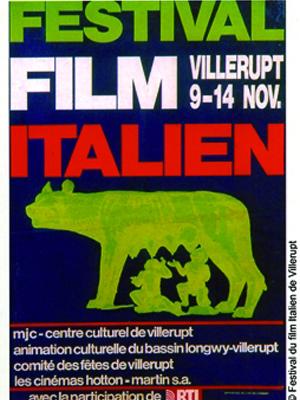festival du film italien de villerupt affiches 1eme dition