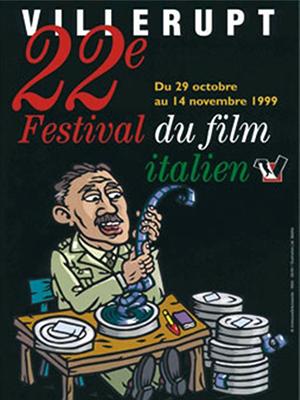 festival du film italien de villerupt affiches 22eme edition
