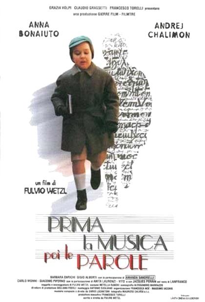 PRIMA LA MUSICA, POI LE PAROLE