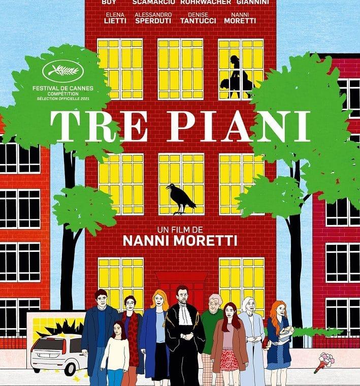 Tre Piani affiche